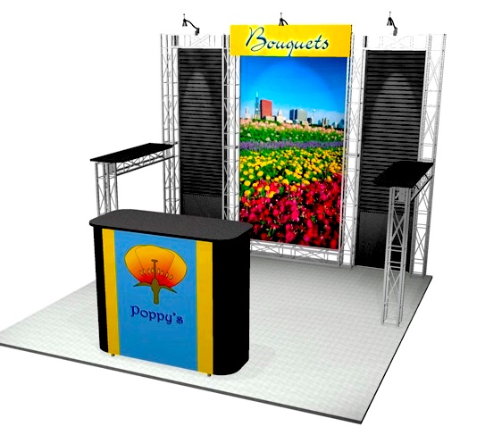 Exhibit Rental Kit 10-105B
