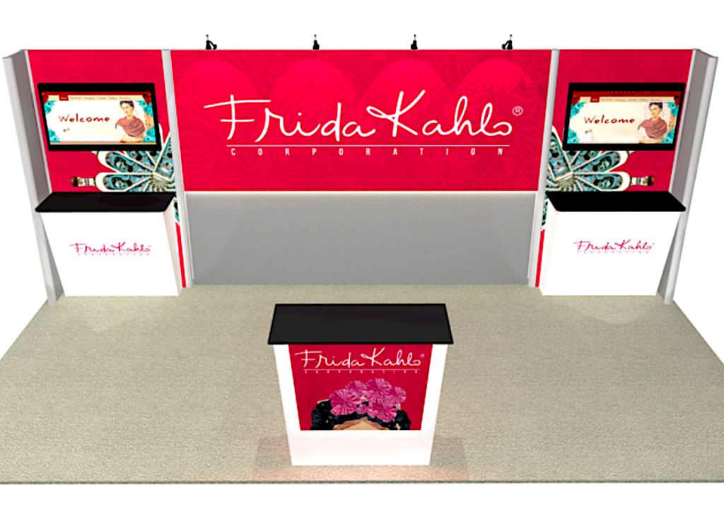Exhibit booth rental for Rio in Vegas