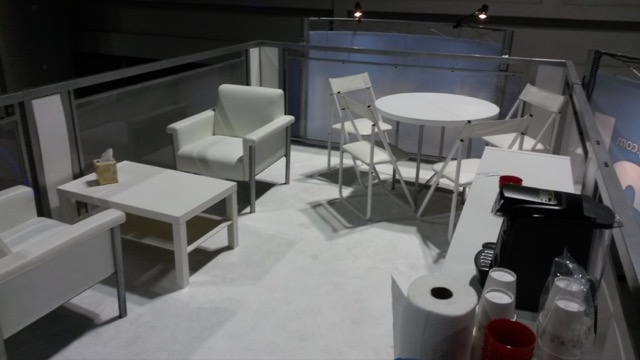 Trade show furnishings - P.O.P. Exhibits Inc.