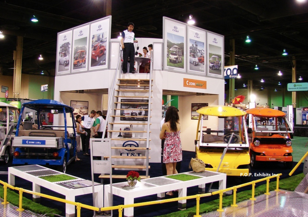 Double Deck Exhibit Rental