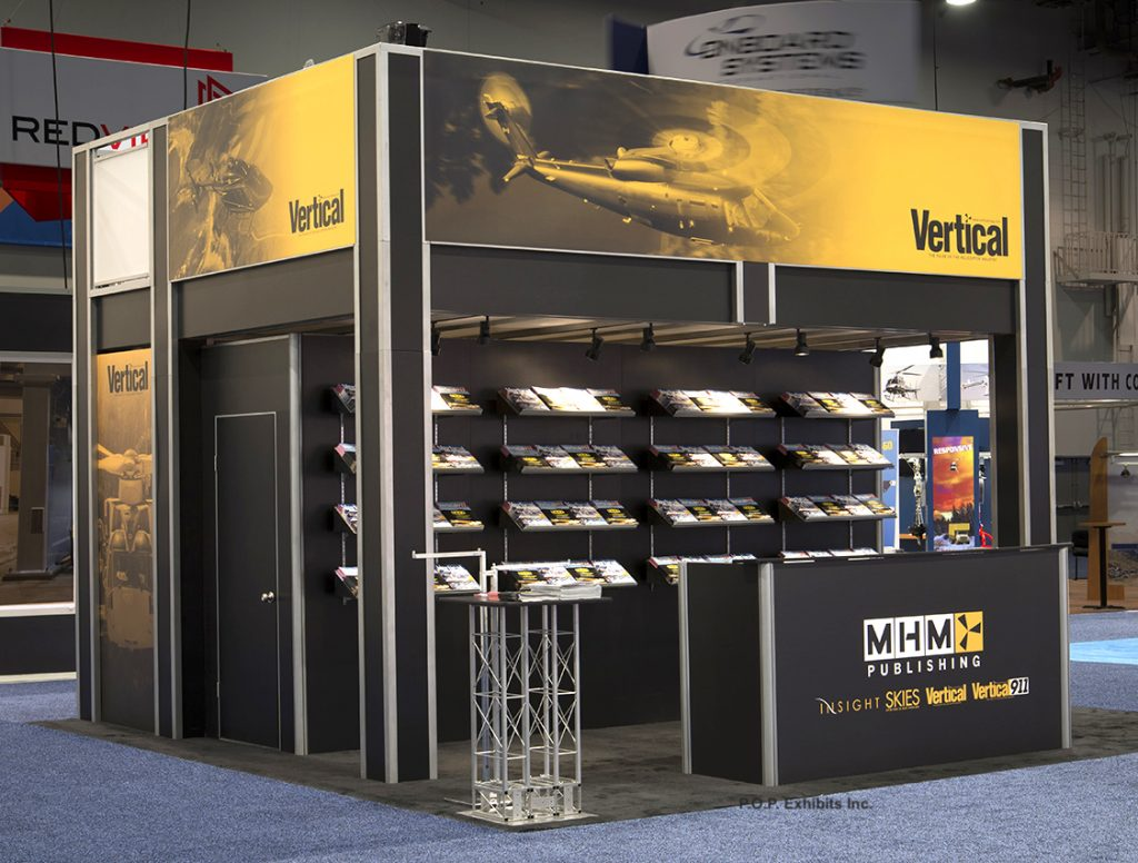 New Two Story Trade Show Booth