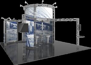Atlas-20x20 truss exhibit
