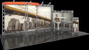 Epsilon-10x20 truss display