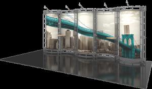 Hydrus-10x20 truss display