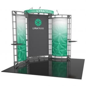 Lyra 10x10 truss exhibit