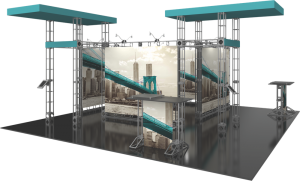 Onyx-20x20 truss display