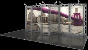 Phoenix-10x20 truss display