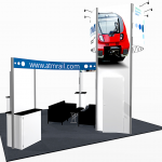 Kit Is- 258 trade show display