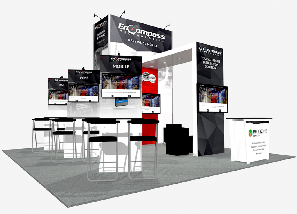 Kit Is- 232 Vegas event booth rental