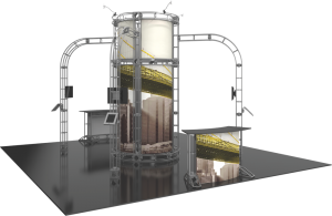 Vesta-20x20 truss display