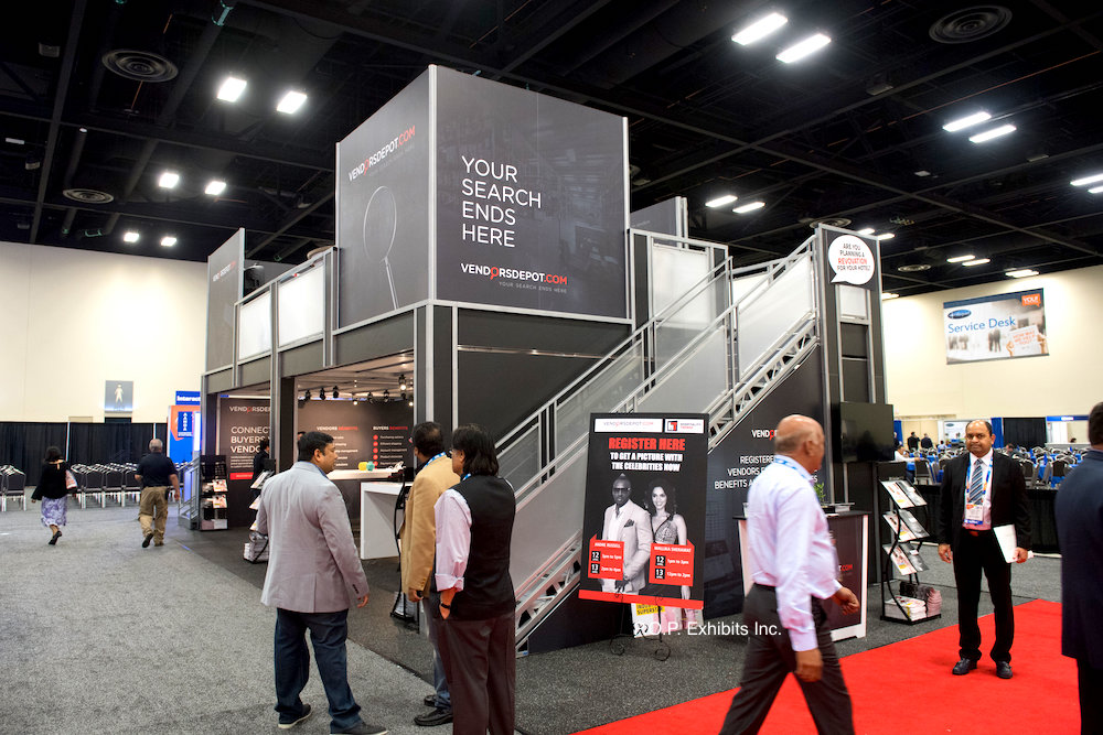 20x20 trade show booth
