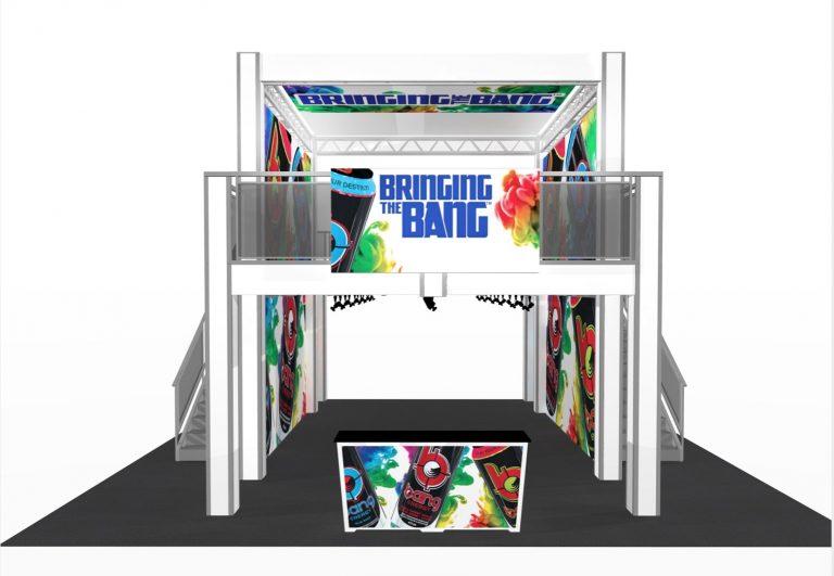 2-Story Exhibit Booth 17' x 26'