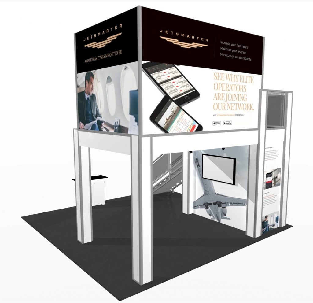 Private Conference room Trade show exhibit