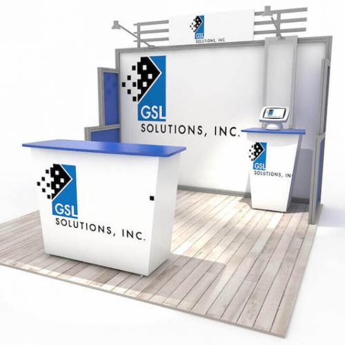 10x10 display rental los angeles