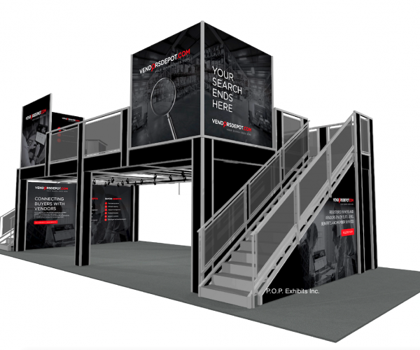 Rent a Double Deck Exhibit