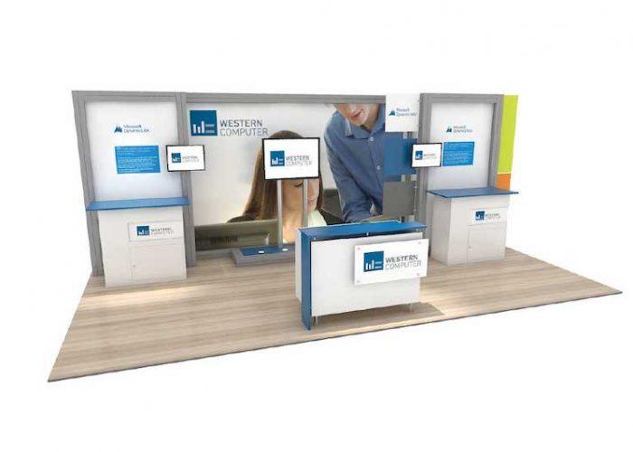 20' inline booth rental anaheim
