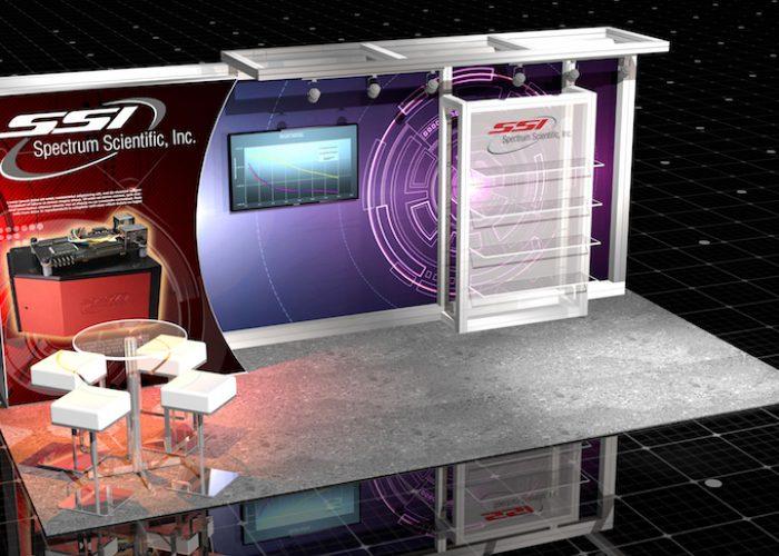 20' inline booth rental las vegas