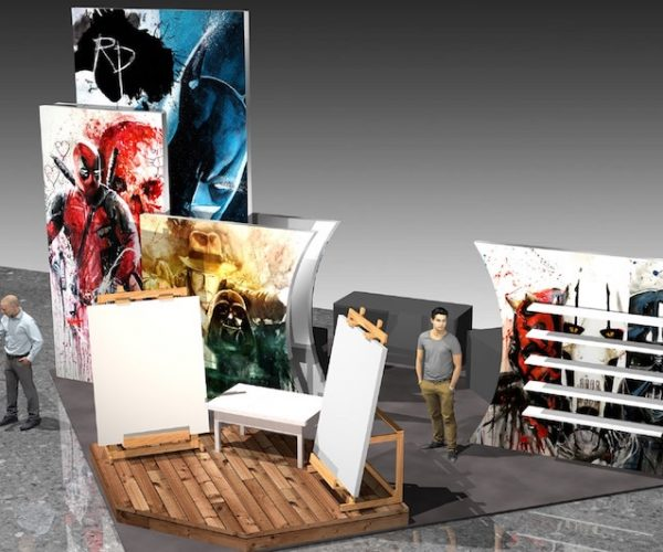 20x20 booth rental las vegas