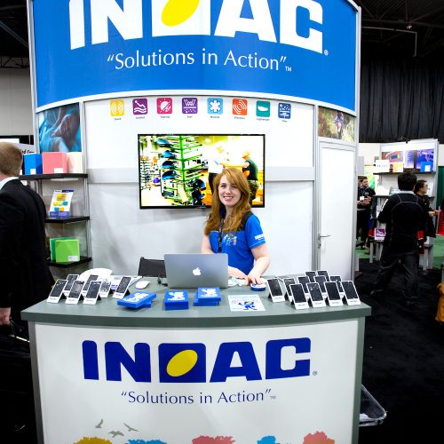 INOAC booth at Foam Expo in Novi, Michigan