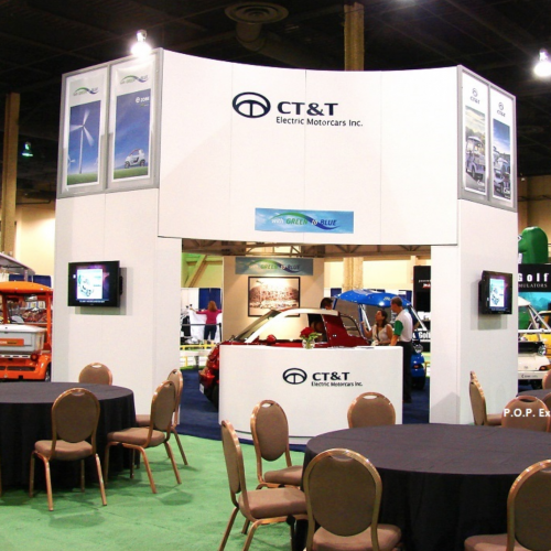 Double Deck Booth for PGA Show