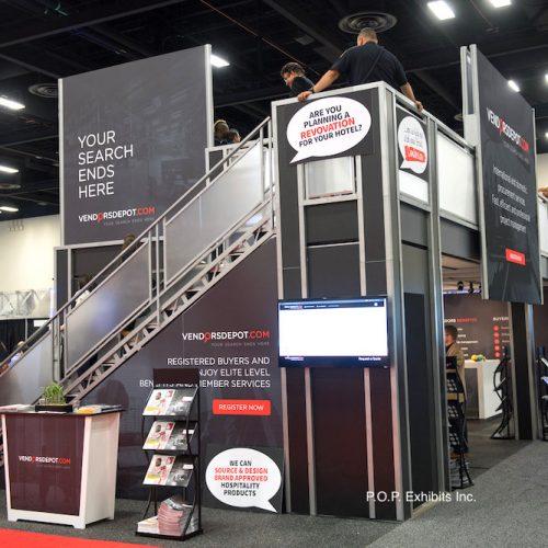 custom trade show display