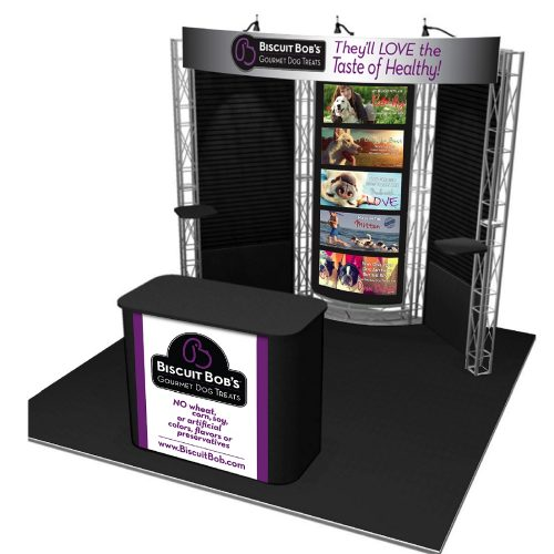 Las Vegas 10' Exhibit Rental